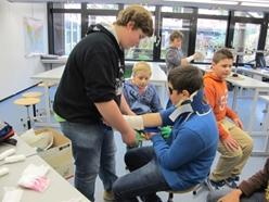 Schulsanitätsdienst - Realschule am Giersberg | {Schulsanitäter ausweis 77}